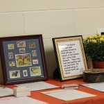 Many great items were offered in the silent auction.